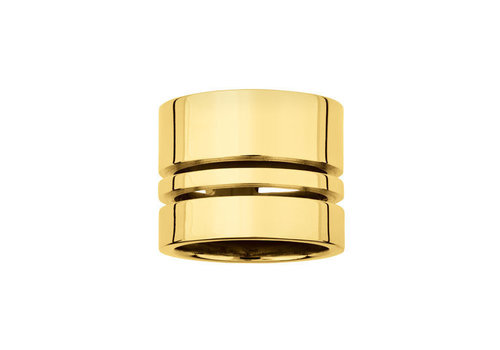INA BEISSNER RING ALMA   SILVER GOLD PLATED 24kt