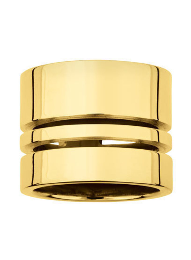 RING ALMA   SILVER GOLD PLATED 24kt