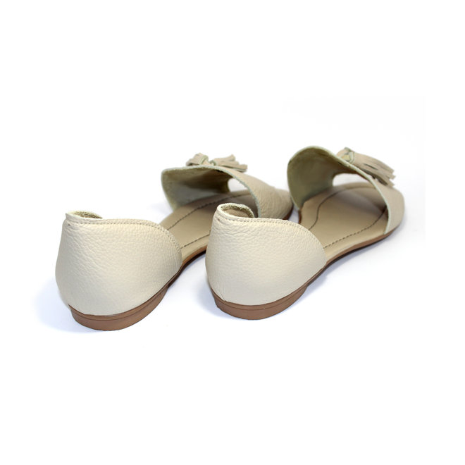 """SANDALS """"SOPHIA"""" SOFT LEATHER -  SANDY - BRASIL - VOLARE NEW COLLECTION"""