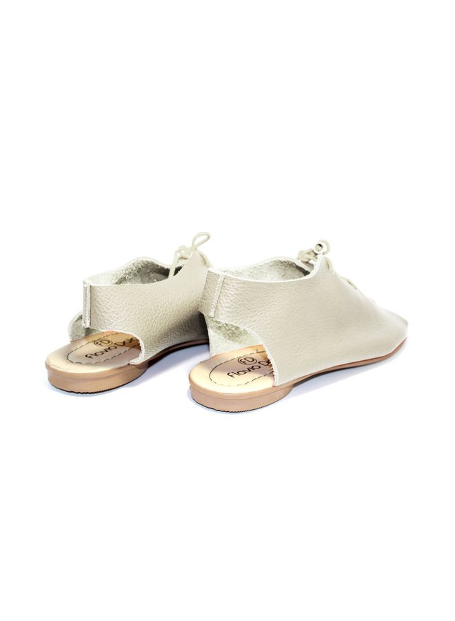 "SANDALS ""SEA"" SOFT LEATHER - SAND- BRASIL"