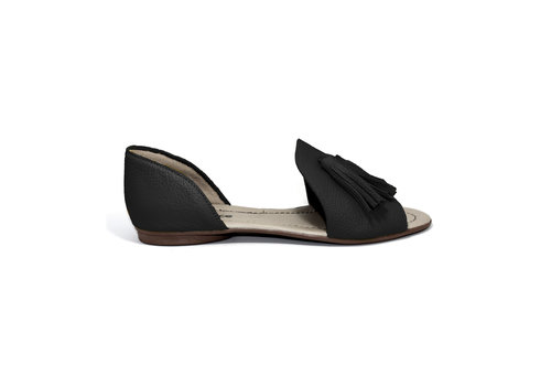 "FLAVIO DOLCE SANDALS ""SOPHIA"" SOFT LEATHER - BLACK - BRASIL"