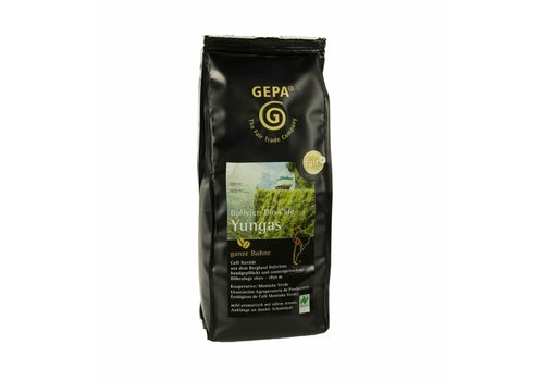 "GEPA BIO ESPRESSO KAFFEE ""YUNGAS"" - WHOLE BEAN"