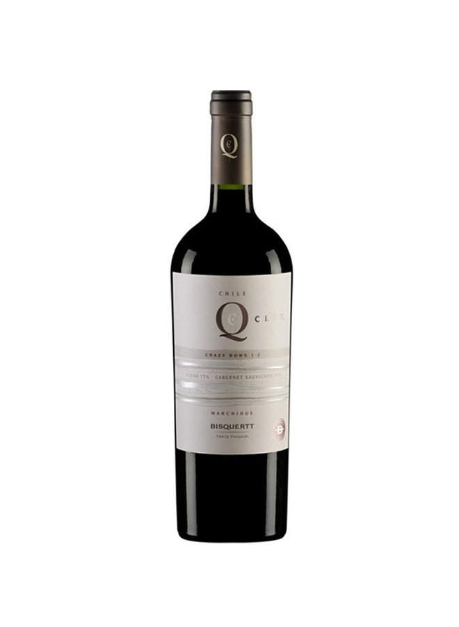 """BLEND SYRAH-CABERNET SAUVIGNON """"QCLAY"""" 2013 FROM CHILE"""