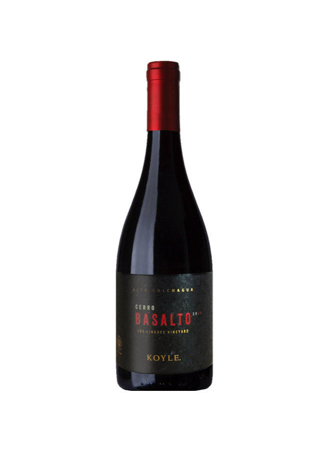 """CUVÈE """"BASALTO"""" 2015 FROM CHILE"""