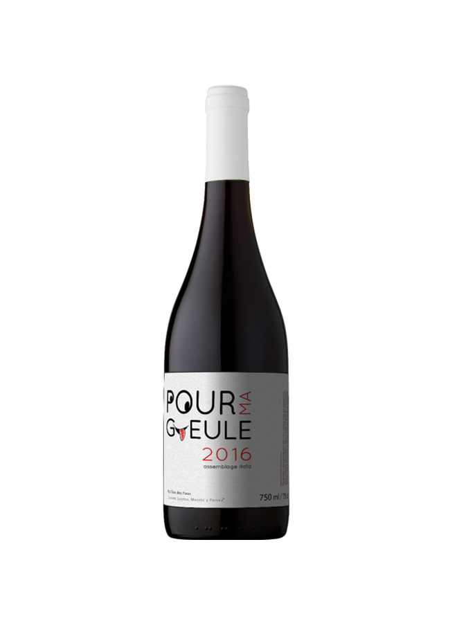 """BLEND  GRAN RESERVA """"POUR MA GUELE""""  2016 FROM CHILE"""