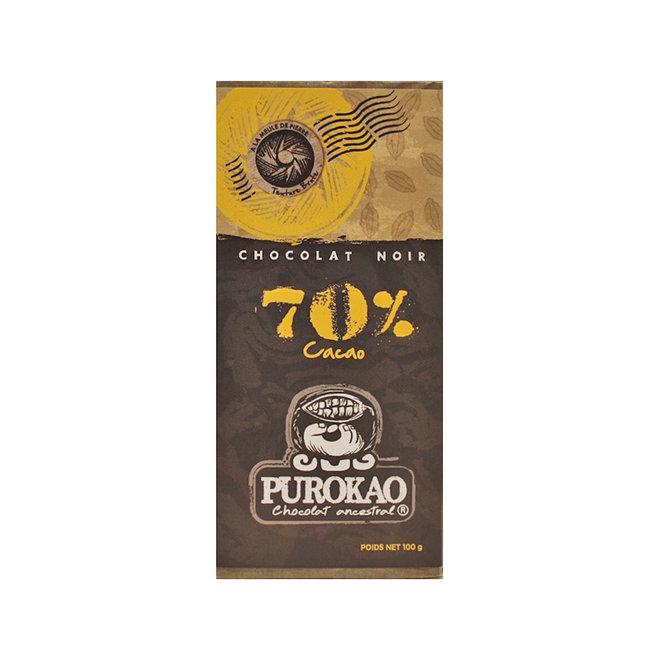DARK CHOCOLATE 70% COCOA - MEXICO - 100g