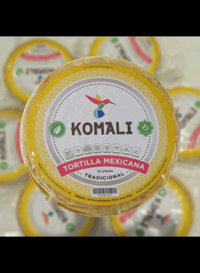 TRADITIONAL MEXIKANISCHE MAIS TORTILLA - 10 STÜCK