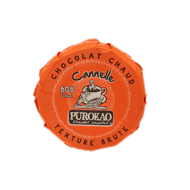 DRINK CHOCOLATE DISC WITH CINAMMON - 60% COCOA - MEXICO - 60 G
