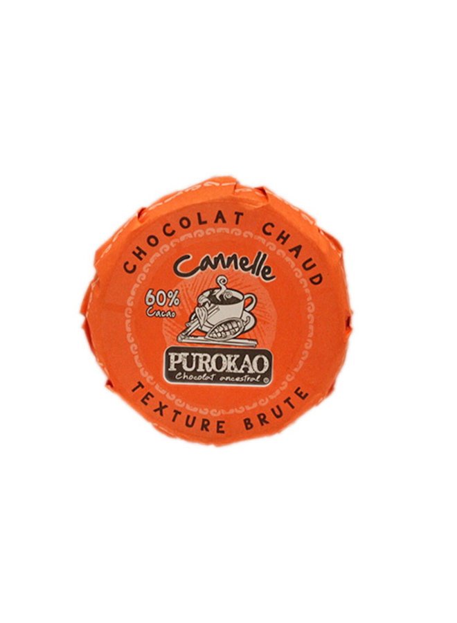 DRINK CHOCOLATE DISC WITH CINAMMON - MEXICO - 60 G