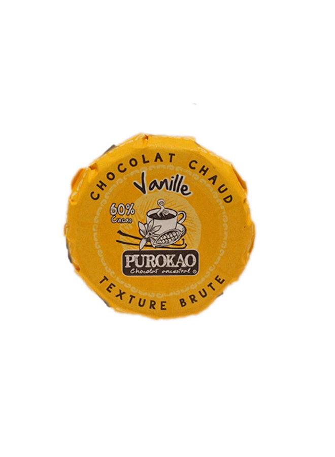 PUROKAO DRINK CHOCOLATE DISC WITH VANILLA - MEXICO - 60 G