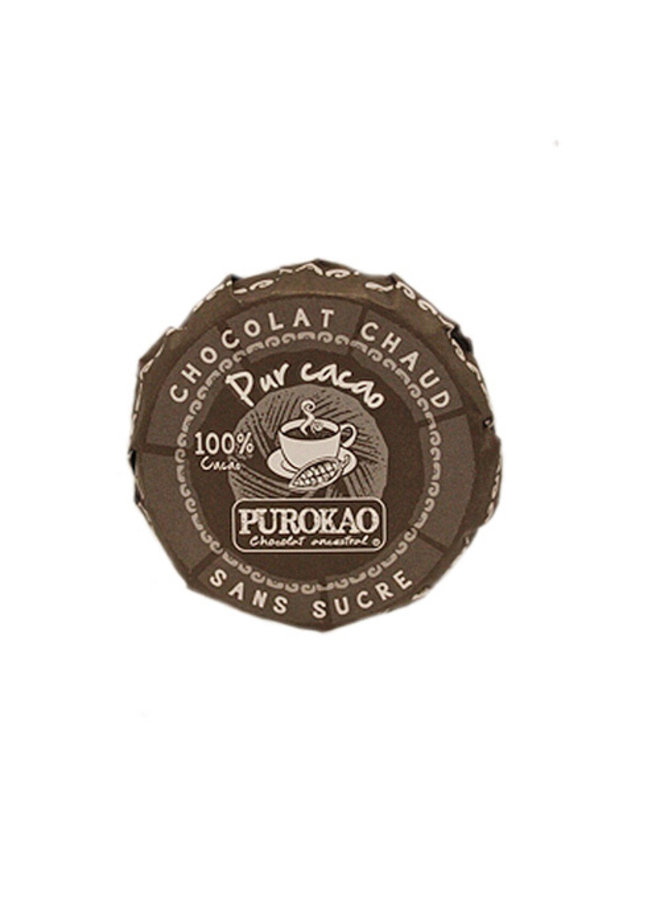 DRINK CHOCOLATE DISC 100% COCOA - MEXICO - 60 G