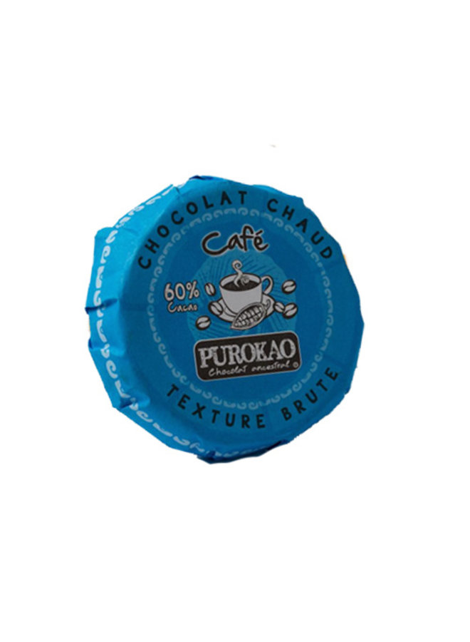 PUROKAO DRINK CHOCOLATE DISC WITH COFFEE - MEXICO - 60 G