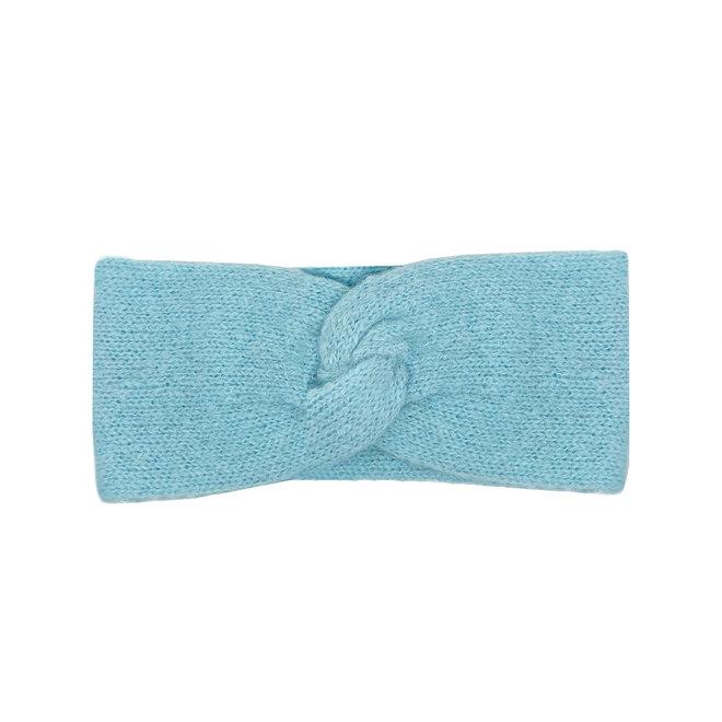CINTILLO LOOP -100% LANA DE ALPACA - BABY BLUE - HECHO A MANO