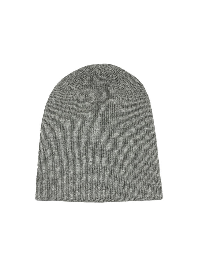 CAP - 100% ALPACA WOOL - GREY