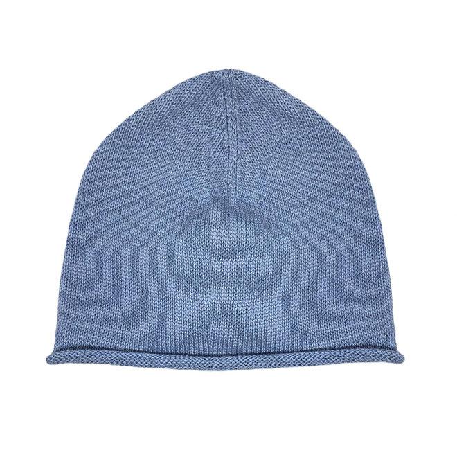 CAP - 100% ALPACA WOOL FINE - LIGHT BLUE