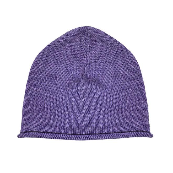CAP - 100% ALPACA WOOL FINE - VIOLET