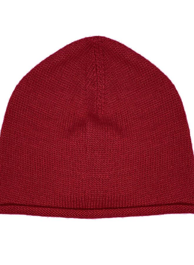 CAP - 100% ALPACA WOOL FINE - RED
