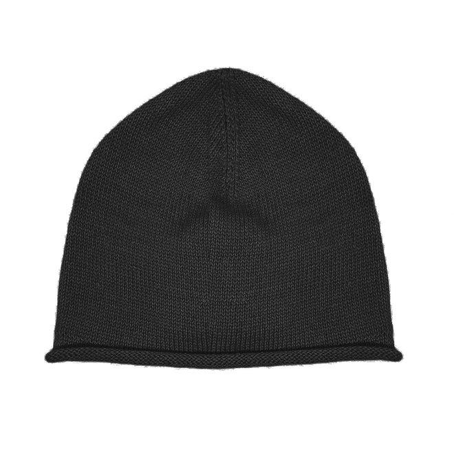 CAP PLANE - 100% ALPACA WOOL FINE - DARK GREY
