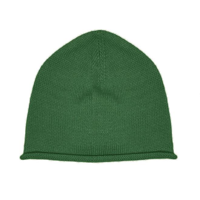 CAP PLANE - 100% ALPACA WOOL FINE - GRÜN