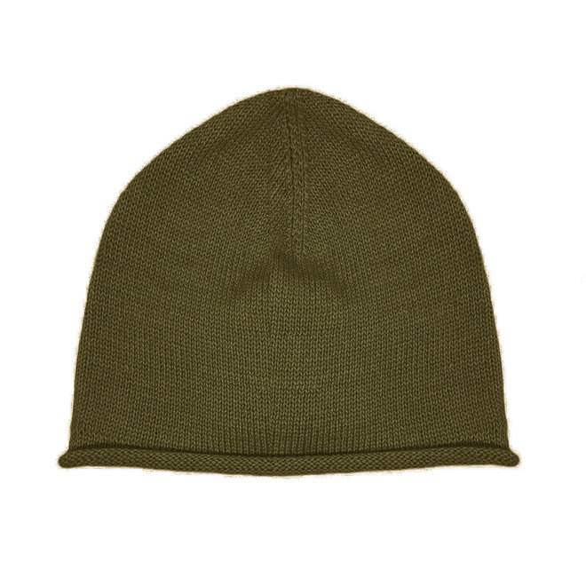 CAP - 100% ALPACA WOOL FINE - MILITAR GREEN