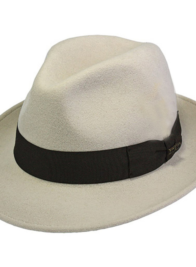 "HAT ""MILANO"" WOLL FELT FROM ECUADOR - CREME"