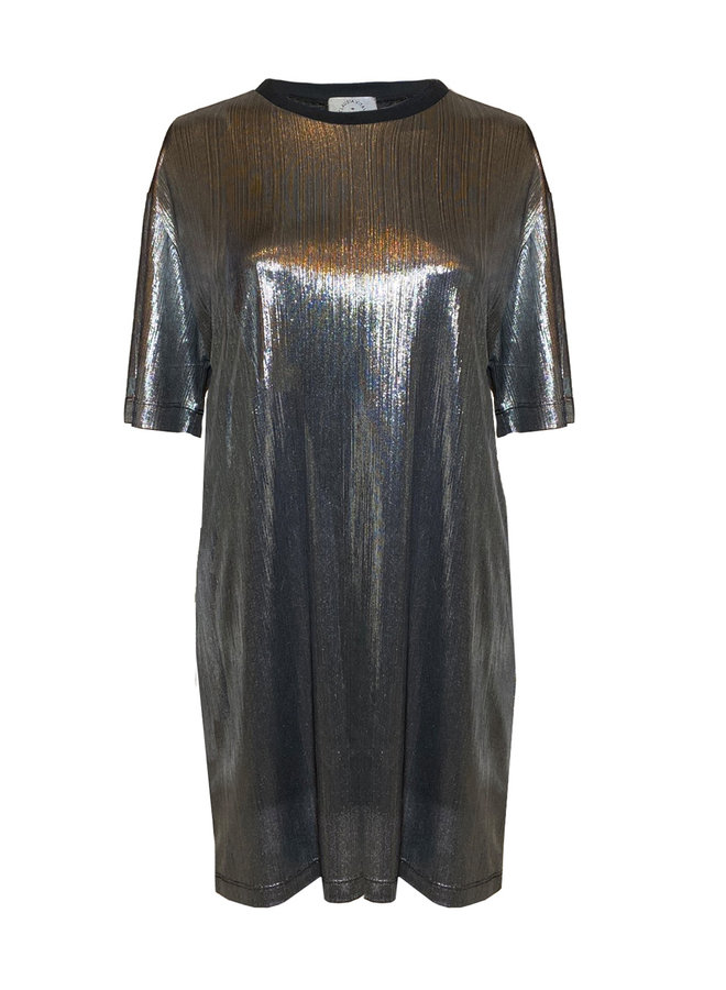 "DRESS ""ZE TIGER GOLD"" - HANDMADE - UNIQUE PIECE"