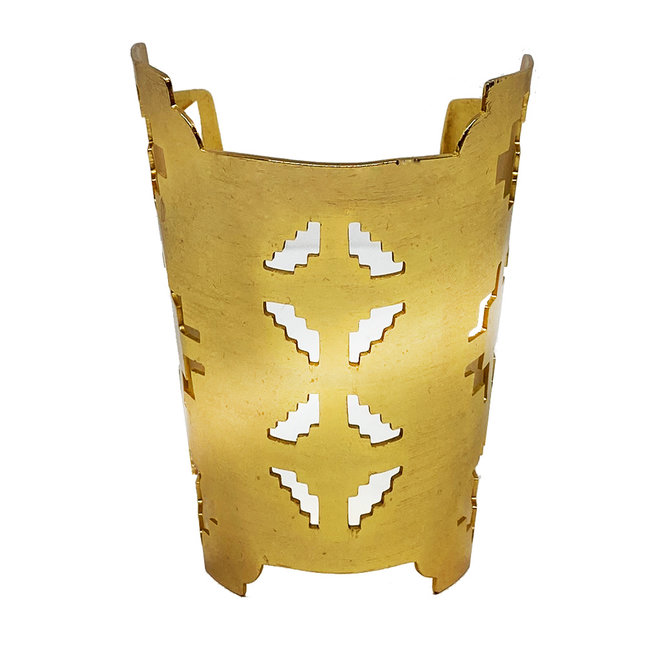 ARMBAND GRECA - VERGOLDET 24 Kt