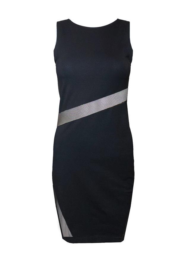 "DRESS ""FLASH"" - HANDMADE - BLACK"
