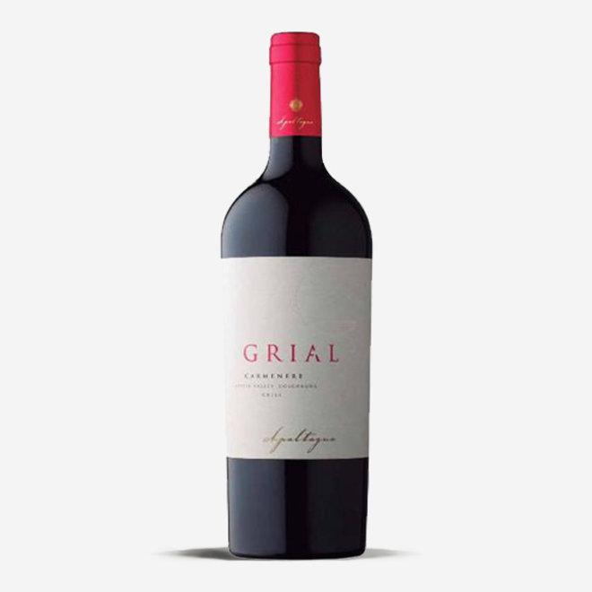 """PREMIUM CARMENÈRE """"ICONO GRIAL"""" GRAN RESERVA - 0,75L - 2015 - CHILE"""