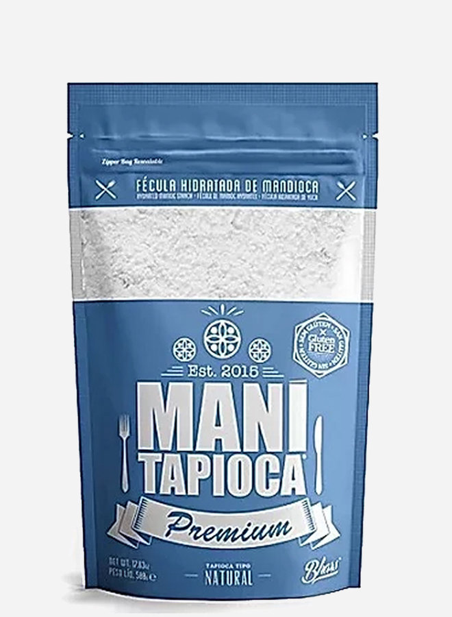 TAPIOKA PREMIUM - MANIO HIDRATADA - BRASIL