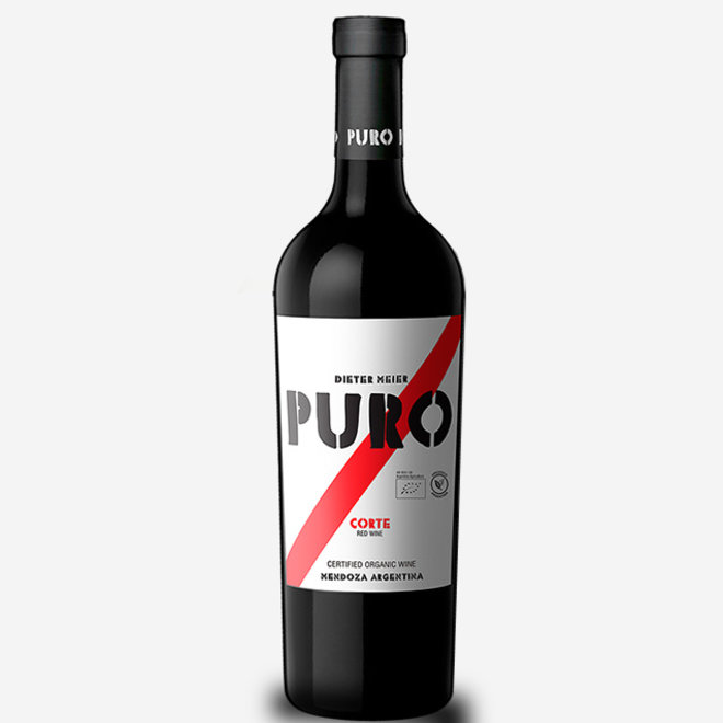 "PURO ""CORTE"" 45% Merlot,  40% Malbec, 15%Cabernet Sauvignon - ARGENTINA 2018"