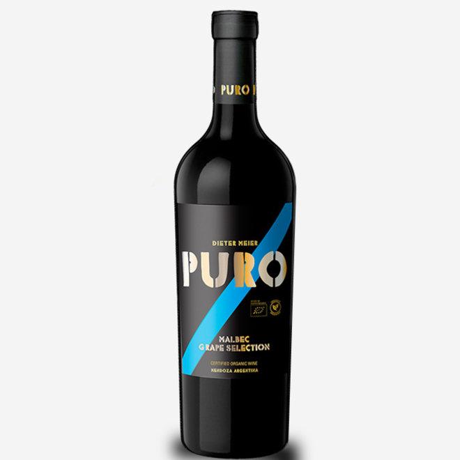 """PURO """"GRAPE SELECTION"""" 100% MALBEC - ARGENTINA 2017"""