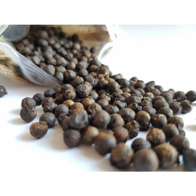 BLACK BUCAY PEPPER (70g) - WHOLE PEPPERCORNS FOR MORTAR AND MILL - ECUADOR