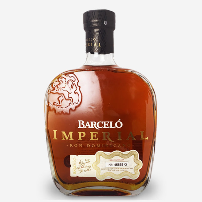 RUM BARCELÓ - IMPERIAL - 10 YEARS - DOMINICAN REPUBLIC