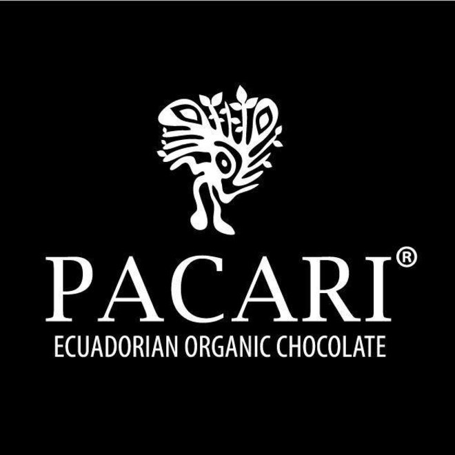 "ORGANIC RAW ""CHOCOLATE WITH GUAYUSA"" - 60% COCOA - 50g  - ECUADOR"