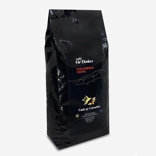 KAFFEE 100% ARABICA, BOHNEN - 1Kg - KOLUMBIEN - UTZ ZERTIFIZIERT