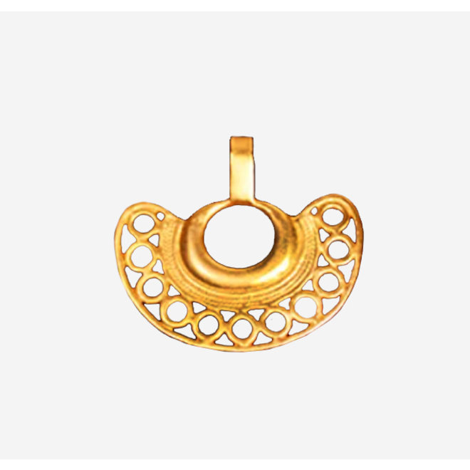 PENDANT GOLD PLATED 24ct - DJ1013 - COLOMBIA
