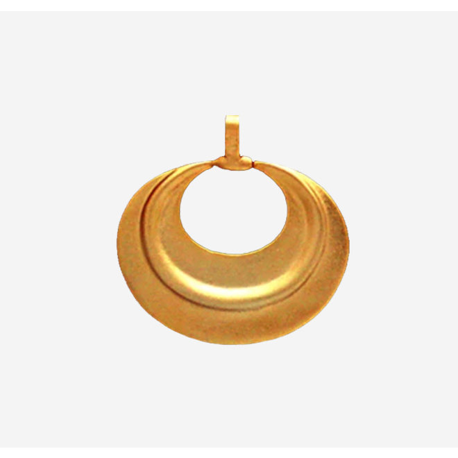 PENDANT GOLD PLATED 24ct - DJ1042 - COLOMBIA
