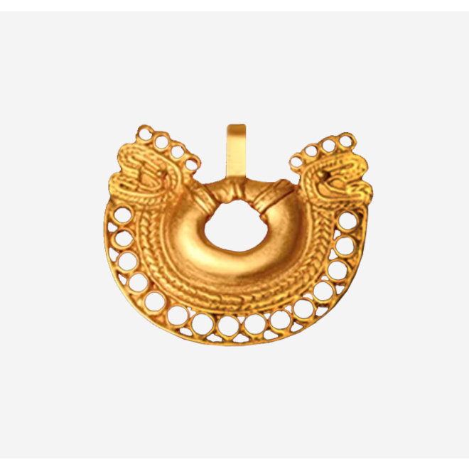 PENDANT GOLD PLATED 24ct - DJ1066 - COLOMBIA