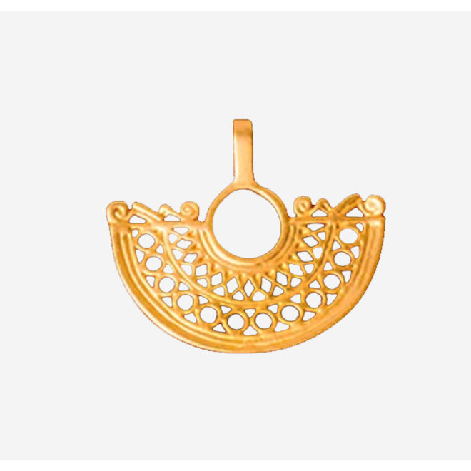 PENDANT GOLD PLATED 24ct - DJ1019 - COLOMBIA