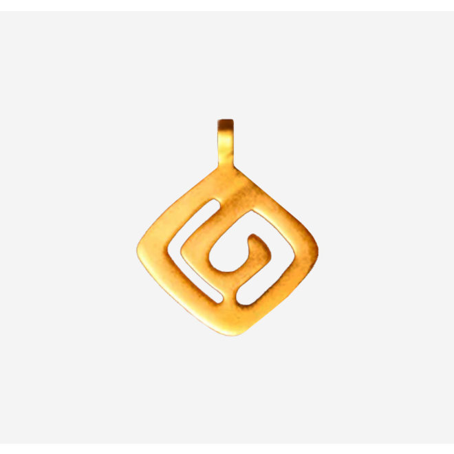 PENDANT GOLD PLATED 24ct - DJ1071 - COLOMBIA