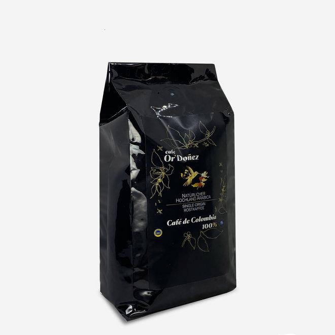 CAFÉ 100% ARABICA, GRANOS - 500g  - COLOMBIA  - CERTIFICADO UTZ