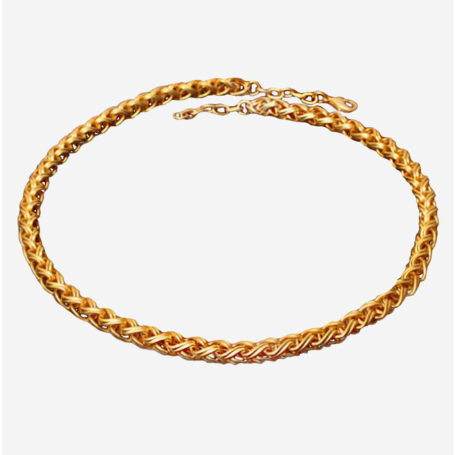 CHAIN - GOLD PLATED 24ct - CL1315L - COLOMBIA