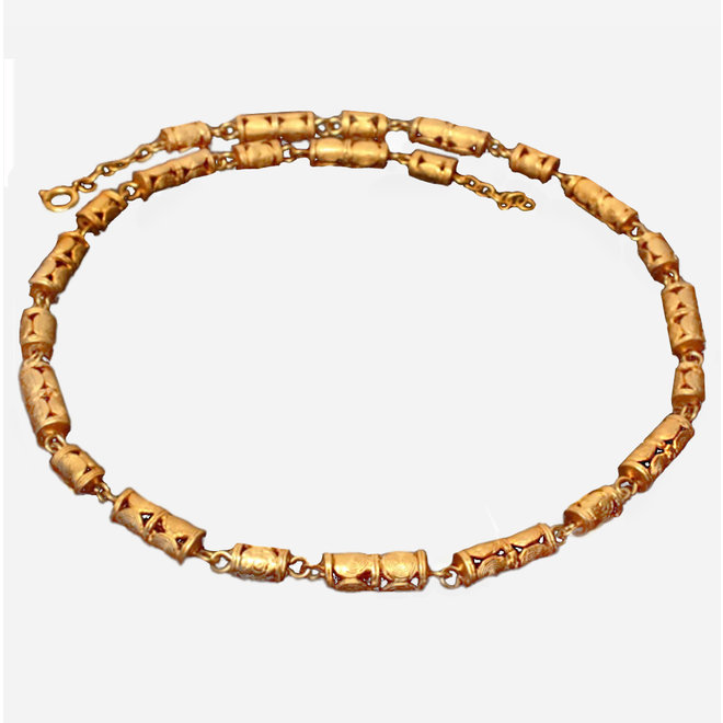 CHAIN - GOLD PLATED 24ct - CL1179 - COLOMBIA