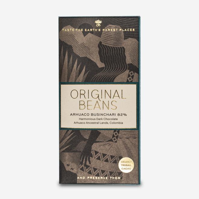 ORGANIC CHOCOLATE ARHUACO BUSINCHARI 82% - 70g - COLOMBIA