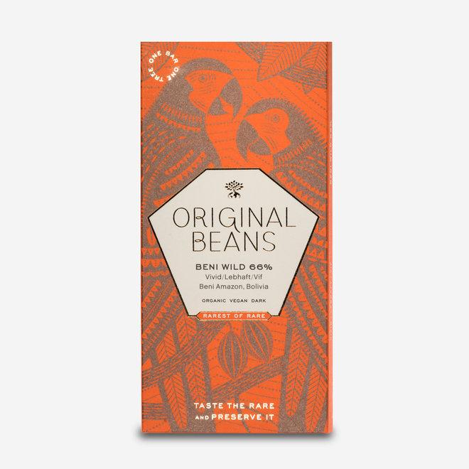 ORGANIC CHOCOLATE BENI WILD 66% - 70g - BOLIVIA
