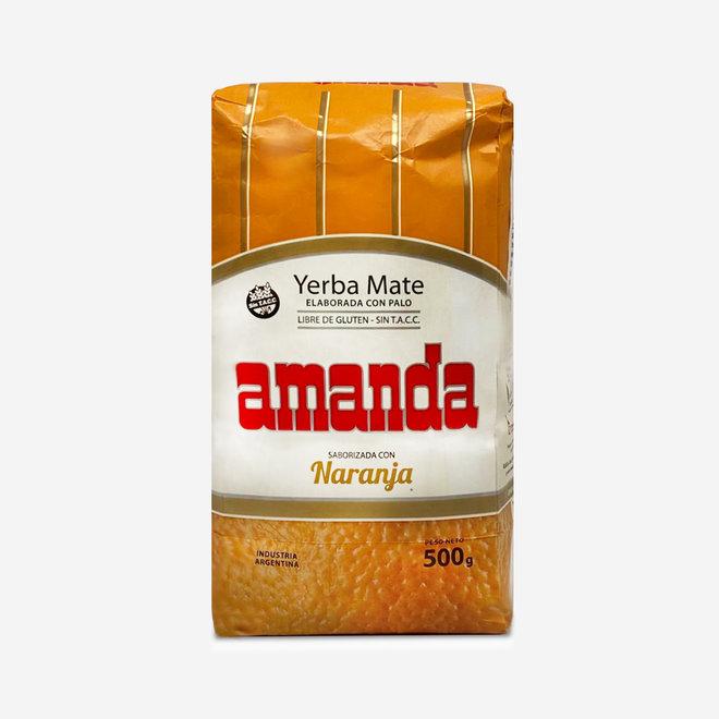 """ORGANIC MATE TEA ORANGE"""""""" - 500g - ARGENTINA"""