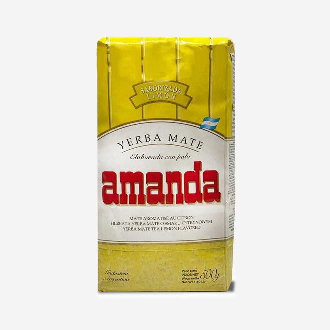 "ORGANIC MATE TEA ""LEMON"" - 500g - ARGENTINA"