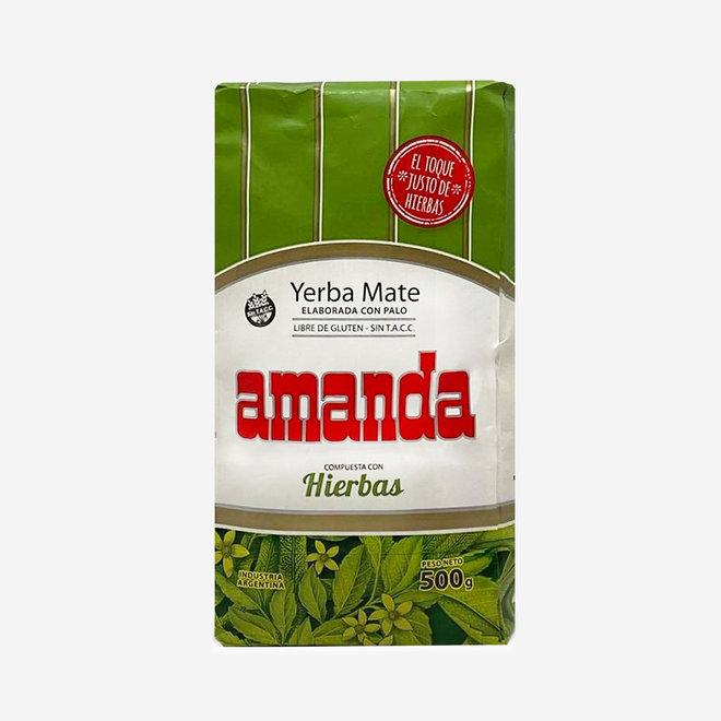 "ORGANIC MATE TEA ""COMPUESTA HIERBAS"" - 500g - ARGENTINA"