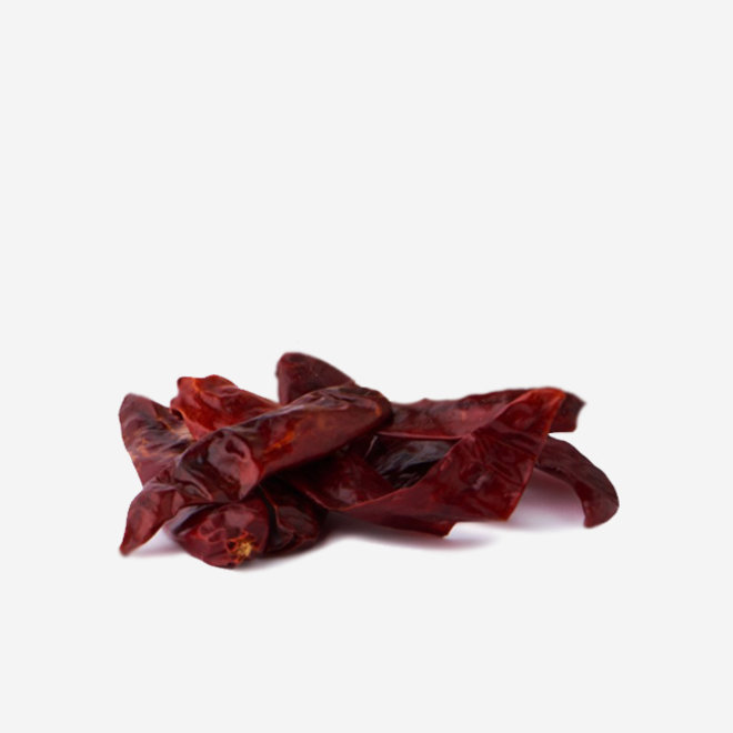 """WHOLE DRIED CHILLIES """"ARBOL"""" - VERY HOT -  75g - MEXICO"""